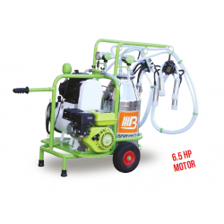 Universal model gasoline&electrical double milking single alum. bucket - dry 40 lt