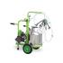 Yaprak model double milking single alum. bucket dry for goat 30 lt